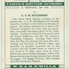 A. S. M. Hutchinson.
