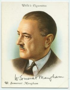 W. Somerset Maugham. Digital ID: 1544537. New York Public Library