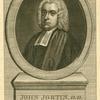 John Jortin, D.D.