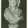 Bust of Queen Juliane Marie.