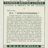 """M. V. """"Worcestershire""""."""