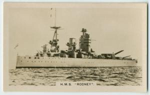 """H.M.S. """"Rodney""""."""
