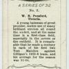 W. H. Pensford, Victoria.