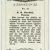 H. M. Woodfall, Victoria.