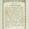 A. Waddington, Yorkshire.
