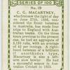 C. G. Macartney, New South Wales.
