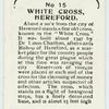 White Cross, Hereford.