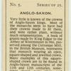 Anglo-Saxon.