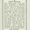 Cecil Brown.