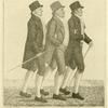 Three Social Friends. Mr. Robert Kay, Mr. Louis Cauvin, and Mr. David Scott.