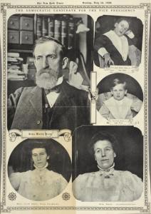 John Worth Kern, 1849-1917.