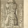 [Explicatio idoli aegyptiaci barcinone inuenti.] Posterior pars.