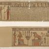 Papyrus found by the Earl of Belmore at Thebes. 1818.