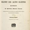 Atlante del basso ed alto Egitto. [Title page]