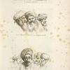 L'ichneumone; Due monaci cofti, e malem Jacob; Tre monaci cofti, due scieh arabi, il scieh di Chaabbas Ammers.