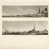 Cimitero dei mamelucchi; Veduta di Boulac e suo porto.