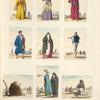 Costumi ed abbigliamenti egiziani.