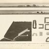 Veduta di Salmia, delle piramidi di Ghisa et di Sakara e dell' interno della piramide aperta di Ghisa.