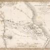 Carte itinéraire du désert situé entre le Nil et la Mer Rouge ...