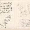 1. Bas-relief du temple à l'orient d'Edfoû; 2. Plan et environs d'une ville antique appellée Sekket [Sakiet, Sikeit]; 3,4. Inscriptions gravées sur les rochers.