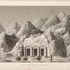 Vue du petit temple de l'est à Sekket [Sakiet, Sikeit].