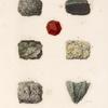 1-3. Des mines d'émeraude du Mont Zabarah, 4,5. de Sekket [Sakiet, Sikeit], 6. de Gebel Kebrit, 7. de l'Ile d'Éléphantine.