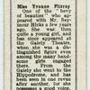 Miss Yvonne Fitzroy.
