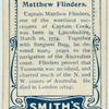 Matthew Flinders.