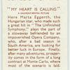 My heart is calling [Marta Eggerth]