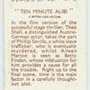Ten minute alibi [Theo Shall and Aileen Marson]