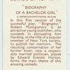 Biography of a bachelor girl [Robert Montgomery and Ann Harding]