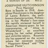 Josephine Hutchinson.