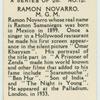 Ramon Navarro.