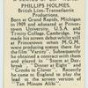 Phillips Holmes.