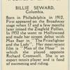 Billie Seward.