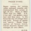 Madge Evans.