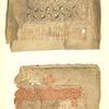 """a. Risunkata na toia list priedstavia sushtiia motiv, koito e izobrazen i na list 5, (vzet e iz edin sriedneb""""lgarski minei ot XV viek, koito se namira v narodniia muzei v Sofiia (invent. No. 407) ; b. Toia ornament, vzet iz sriedneb""""lgarski minei ot narodniia muzei v Sofiia (inv. No. 2900), Vol. 2, pl. 6 a,b"""