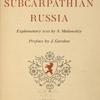 Peasant art of subcarpathian Russia ... [Title page]