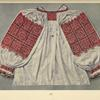 Woman's blouse embroidered with cotton crosses, Buština.