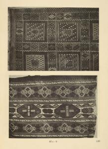 "a) Caucasian smooth carpet from Šuša in the Government of Elizabeth; b) Old Caucasian ""mafraš."""
