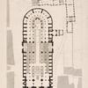 Plan d'Église Métropolitaine de Notre-Dame du Palais Archiépiscopal [...]