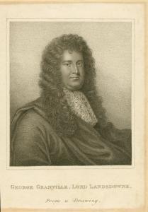George Granville, Baron Lansdowne, 1667-1735.