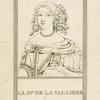 Françoise-Louise de La Baume Le Blanc, duchesse de La Vallière, 1644-1710.