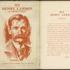 Henry Lawson, 1867-1922.