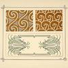 [Abstract design based on swirls.]
