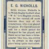 E. G. Nicholls