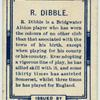 R. Dibble