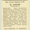 H. Carter