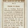 Fredk W. Kean