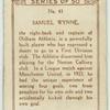 Samuel Wynne